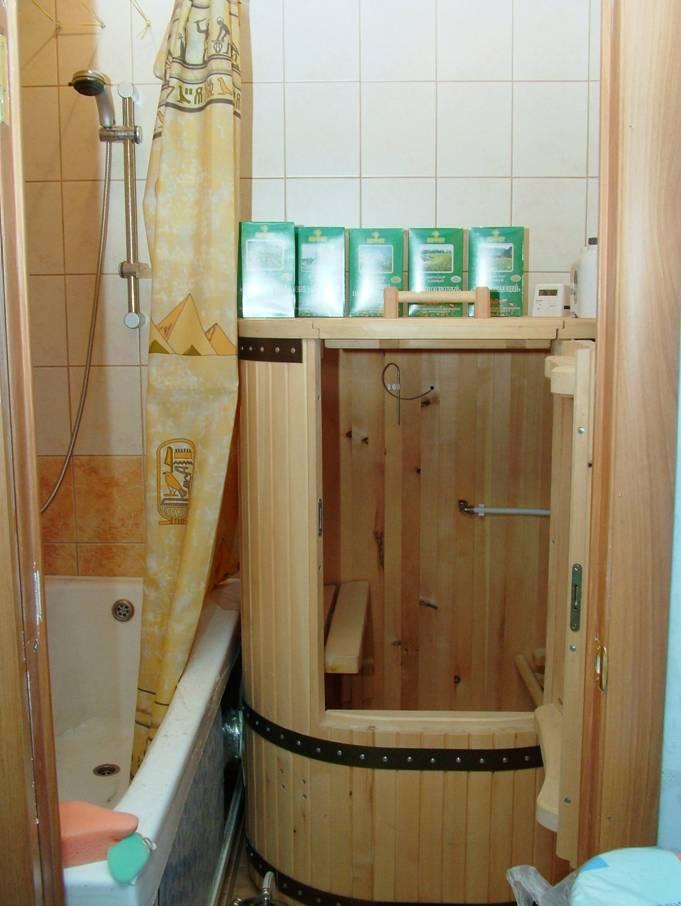 Как сделать ванной сауну